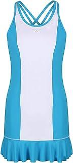 Girls Blue & White Tennis Dress Flared Tennis Dress Junior Tennis Dress Girls Golf Dress Kids Golf Clothing Glrls Sportswear