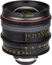 Tokina Cinema 16-28mm F/3.0-22 Standard-Zoom Fixed Zoom 16-28mm T3.0 with PL Mount, Black (TC-168P)