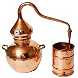Soldered Alembic Still (Copper, 10 Liter)