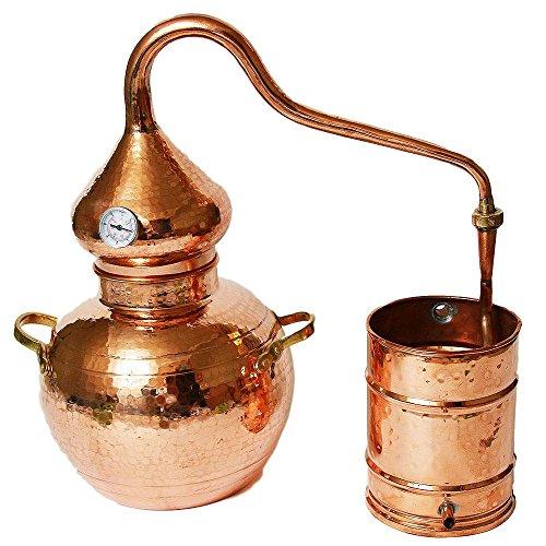 Soldered Alembic Still (Copper, 10 Liter)