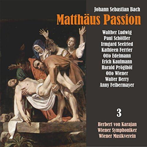 Herbert von Karajan, Walther Ludwig & Kathleen Ferrier