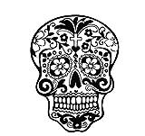 fablcrew-Aufkleber Wand Aufkleber Deko Aufkleber Kreative mit Muster von Kopf-Knochen 57* 76cm
