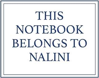 This Notebook Belongs to Nalini