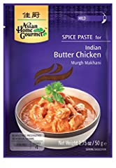 Indian Butter Chicken - Pack of 3. Each packet seves for 4. No added MSG, No Preservatives, No atrificial colours. Glutten Free. Product of Thailand.