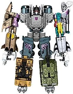 TRANSFORMING Transformers Generations Combiner Wars Bruticus Action Figure Set [Onslaught, Vortex, Brawl, Swindle and Blast Off]