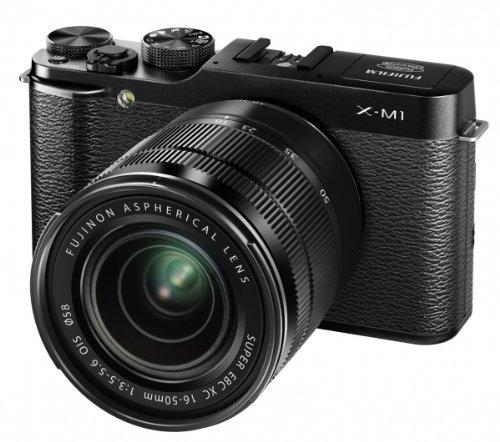 Fujifilm X-M1 KIT 16-50 EE TD - Cámara EVIL de 16.5 Mp (pantalla de 3', objetivo 16.0-50.0mm f/3.5, zoom óptico 3x, estabilizador de imagen) color negro