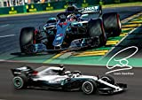 Salopian Sales Lewis Hamilton Formel 1 Bunt Poster mit