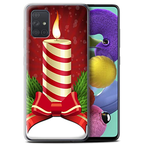 Stuff4 Phone Case/Cover/Skin/SG-GC/Christmas Decorations Collection Samsung Galaxy A71 2020 kaars