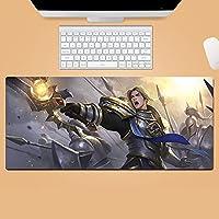 超大型 鼠标垫 大型 游戏用 鼠标垫 World of Warcraft 顺滑轻操作感 低摩擦 耐用性强 特选水洗材料 防水 舒适操作性 游戏・办公室 居家工作 减轻疲劳 垫 防滑橡胶底 电脑鼠标垫 防滑耐磨 耐洗表面 鼠标垫-700X300X3MM-A_900*400*3MM