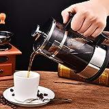 Omabeta Cafetera de diseño razonable a Prueba de Herrumbre y Lavable, cafetera, cafetera de Prensa Francesa