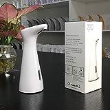 OURLITIME Dispensador de jabón automático de 200 ml, máquina de desinfección de manos, dispensador de jabón por...
