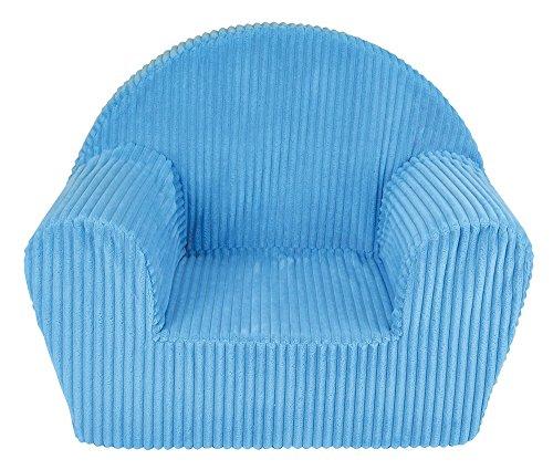 Unbekannt Fun House 712720Sessel Club blau aus Schaumstoff für Kinder Bezug 100{5539203c2175269d53f6f959a88e5ff85157ea07c13d2ff19ac9ab39870e27f6} Polyester, Schaumstoff 100{5539203c2175269d53f6f959a88e5ff85157ea07c13d2ff19ac9ab39870e27f6} Polyether 52x 33x 42cm
