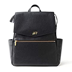 [STYLE + FUNCTION] Pack it up and pack it in with literally everything you need for your and baby. 10 pockets and spacious central compartment for larger items, easy access magnetic front flap, a grab and go top handle, even an electronics sleeve. [T...