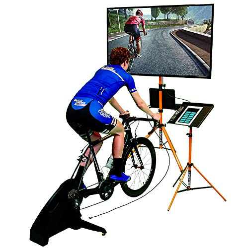 powerful Indoor CHAP STAND Cycling Kit Compatible with Zwift Trainer Raod Sufferfest Garmin Wahoo