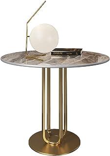 Coffee table طاولة جانبية مستديرة، الجدول الجانبي الرخام طاولة الرخام المعدني، طاولات Lightstandsmall لغرفة المعيشة، طاولة...