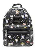 Loungefly Hello Kitty Zodiac Print Mini Backpack (One_Size, Black)