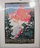 Annecy-Mont Blanc-P.L. M, 24 x 30 Cm, Poster Poster