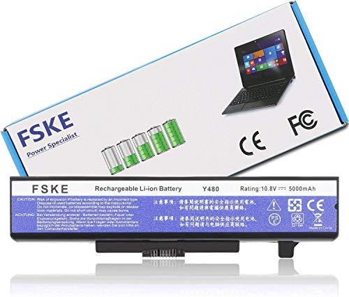 FSKE Akku für Lenovo 0A36311 L11M6Y01 L11S6F01 L11S6Y01 L11L6Y01,V380 G700 Z580 G400 Y480 G580 Z380 G500 G510 G710 N580 V480 G410 P580 P585 G405 G505 Notebook Battery, 6-Zelle 10.8V 5000mAh