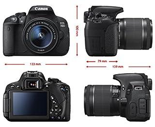 Canon ac8596b 095aa Digital de Cámara EOS 700d con ef1855dciii (B018KO3KBI) | Amazon price tracker / tracking, Amazon price history charts, Amazon price watches, Amazon price drop alerts