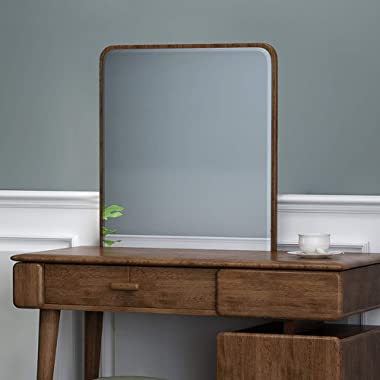 IOTXY HD Explosion-Proof Makeup Mirror - Suitable for Vanity Dressing Table BB028, Oak