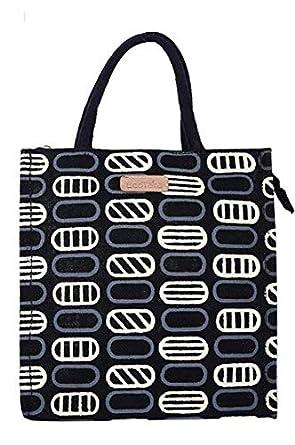 ECOTARA Jute Lunch Bag for Men & Women with Bottle Holder