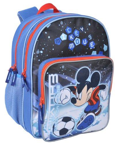 Ergonomischer Disney Mickey Mouse Rucksack Tasche Disney Mickey Maus Schulrucksack 38x27x17cm EDEL 2014