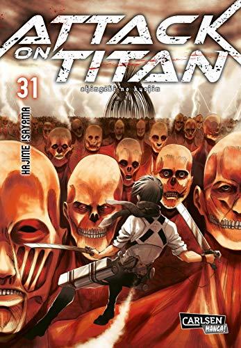 Produktbild von Attack on Titan 31: Atemberaubende Fantasy-Action im Kampf gegen grauenhafte Titanen