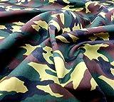 Dschungel-Camouflage-Stoff, Meterware, Rose & Hubble, 112