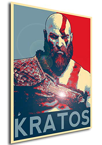 Instabuy Posters Propaganda - God of War Kratos (B) - A3 (42x30 cm)