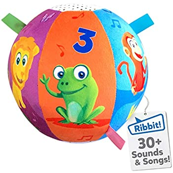 Move2Play Interactive Animal Sounds Crawl Ball Toy for Babies and Toddlers Baby Ball for Ages 6 Months to 1 2 Year Old boy and Girls