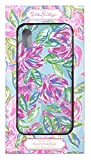 Lilly Pulitzer Women's Pink/Blue/Green iPhone X/XS Case, Totally Blossom