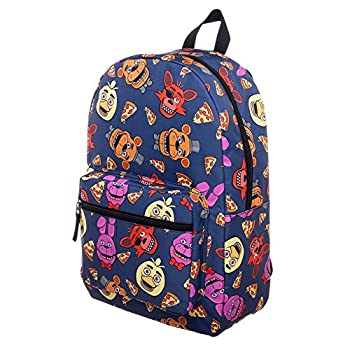 Five Nights At Freddy s Characters School Backpack FNAF Chica Foxy Bonnie