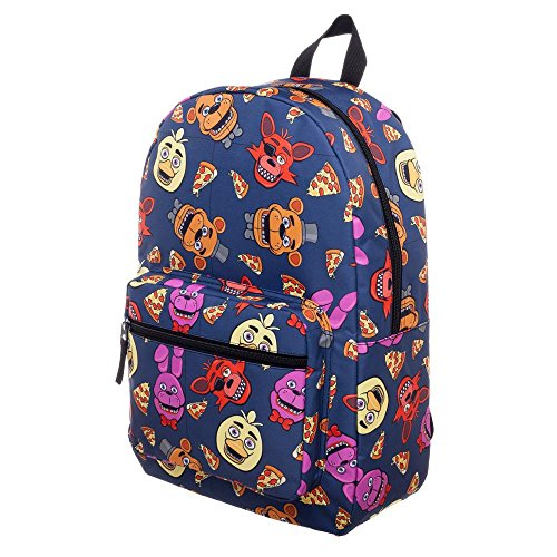 Five Nights At Freddy?s Characters School Backpack, FNAF Chica Foxy Bonnie