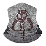 Manda-lorian Neck Gaiter Balaclava Windproof Bandana Headwear Summer Cool Breathable Lightweight Headband for Men Women Sports Or Outdoors