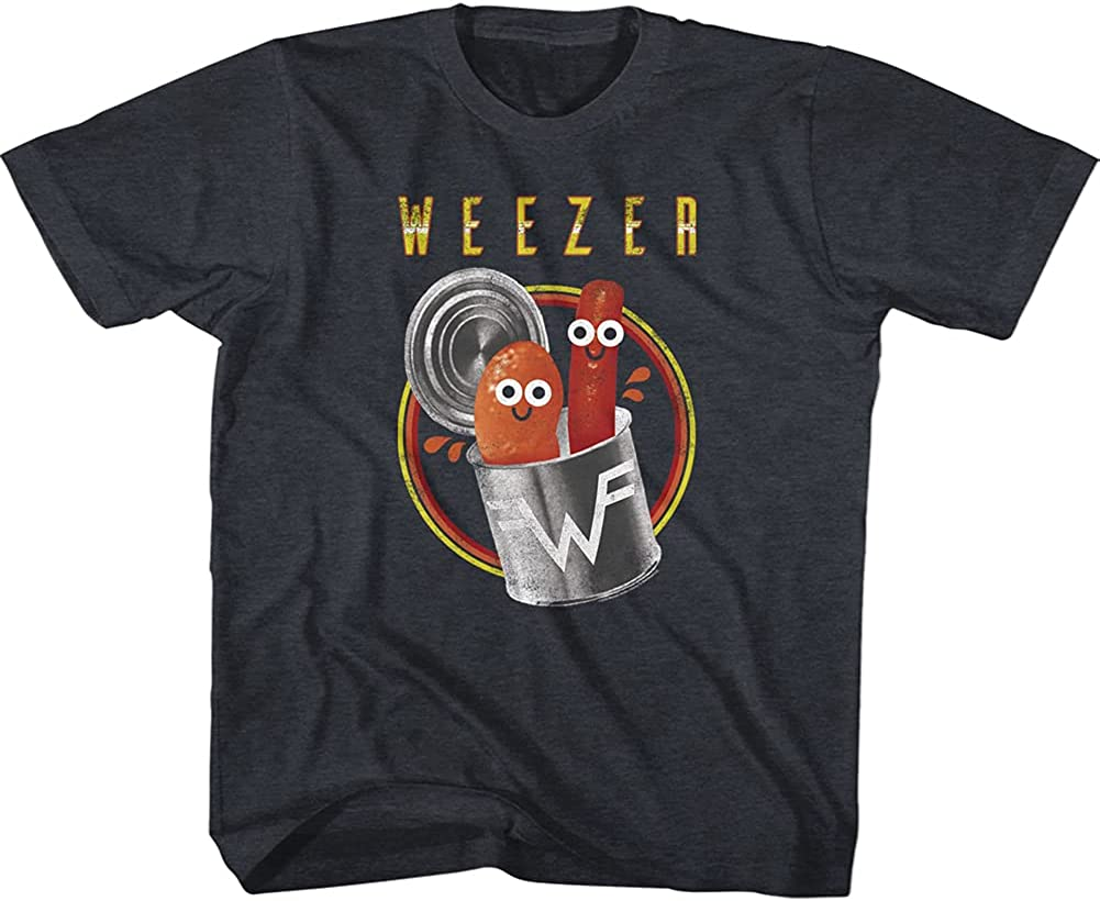 Weezer Rock Band Pork and Beans Toddler Short Sleeve T-Shirt Graphic Tee