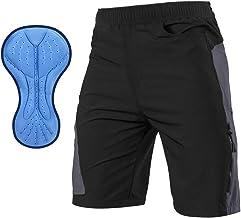 TOM SHOO Heren 3D Gewatteerde Fietsbroek Ademend & Adsorbent Fiets Ondergoed Outdoor Sport MTB Bike Shorts