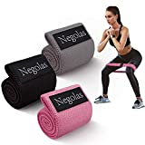 Resistance Bands for Legs and Butt, Workout Booty Bands Wide Elastic Loop Thick Cloth Thigh Bands Fitness Hip Circle Non Slip Stretch Bands