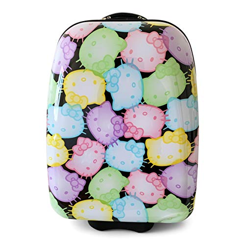 Sanrio Hello Kitty Suitcase Hard Sided Rolling Luggage Large