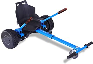 mingto Go Kart,Hoverboard Accessories,Hoverboard Seat Attachment-Adjustable for All Ages.Fits All Hoverboards.(Hoverboard Not Included)