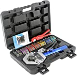 IBOSAD Hydraulic AC Hose Crimper Hydra-Krimp 71500 Manual A/C Hose Crimper Kit Air Conditioning Repaire...