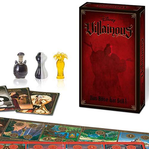 Ravensburger 26958 - Disney Villainous - Das Böse hat Stil, 3 Erweiterung von Villainous ab 10 Jahren für 2-3 Spieler