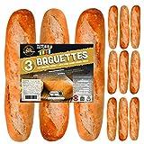 12 x Baguettes de Pan SiempreTierno 110 grs (1320 grs total) · Dura hasta 88 días sin necesitad de...