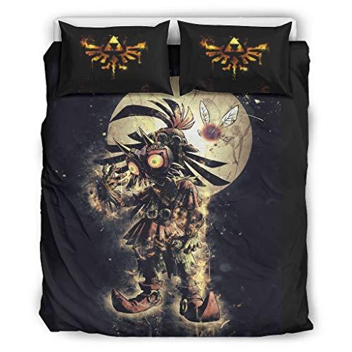Haythan Juego de ropa de cama de 3 piezas, natural – Juego de cama de 3 piezas para cama individual, Queen, King White 264 x 229 cm