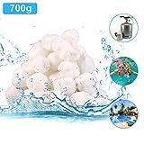 Diealles Shine 700g Filtro Balls, Materiale Filtrante Piscina, Sfere per Filtrazione a Sabbia per Piscine, 25 kg Filtro Sabbia Sabbia di Quarzo qualità Prodotti