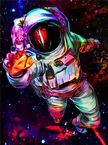QRKJ Rompecabezas para Adultos Rompecabezas de 4000 Piezas Gran Astronauta Divertido Rompecabezas difícil para Adultos Decoración Familiar Juegos de Rompecabezas