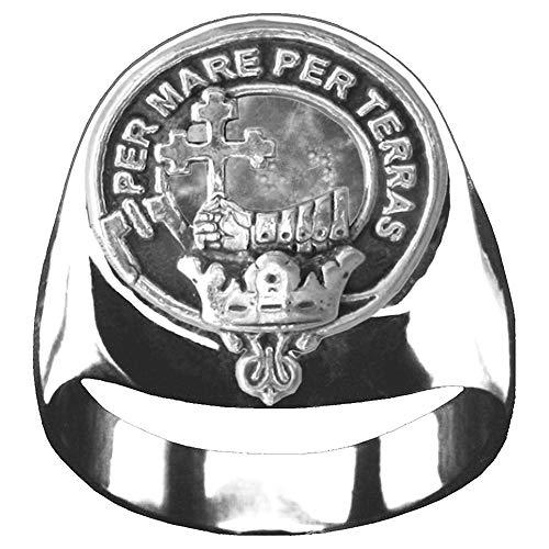 MacDonald (Isles) Scottish Clan Crest Ring GC100