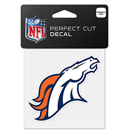 WinCraft NFL Denver Broncos 63044011 Perfect Cut Color Decal, 4