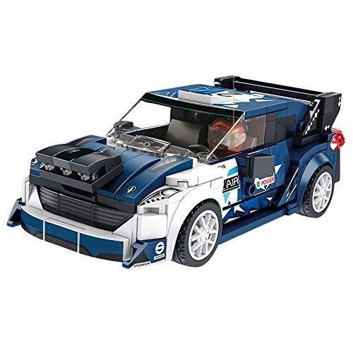 ZSM AOCEAN INGENIERING VETHLET Ford Speed CAMPETOS Deportes Racing Coche Creador Supercar DIY Bloques de construcción Conjunto de Ladrillos de vehículos Moc clásico Modelo Modelo Juguetes YMIK