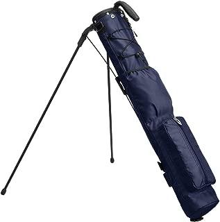 EARTH LEAD セルフスタンド ゴルフ クラブケース クラブ ケース フード 大型ポケット付き 超軽量 低重心 安定感抜群 BASIC