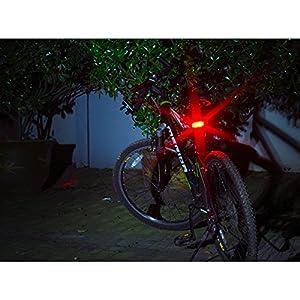 LemonBest® Super Bright Recargable luz Bicicleta Trasera USB Bicicleta LED Trasera luz